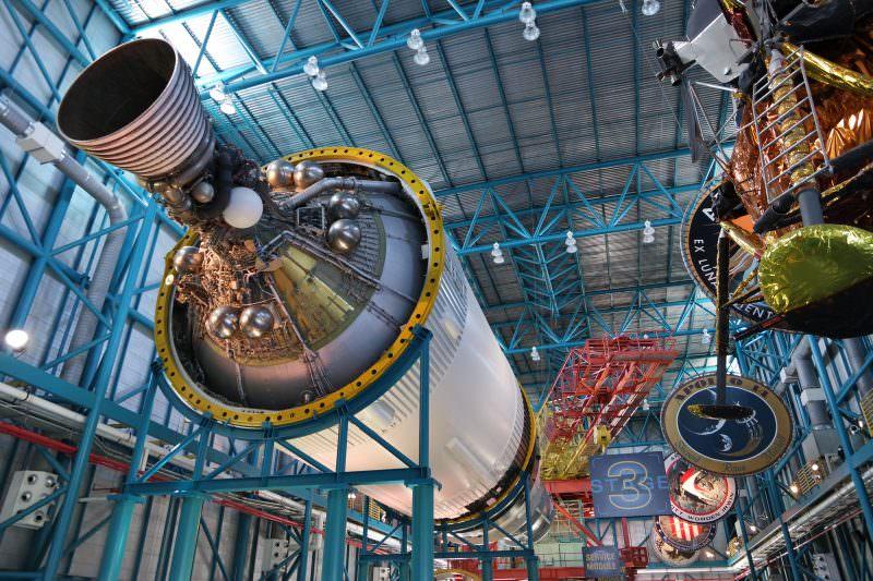 Saturn V Rakete