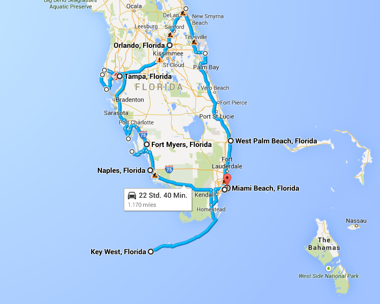 Road Trip From West Palm Beach