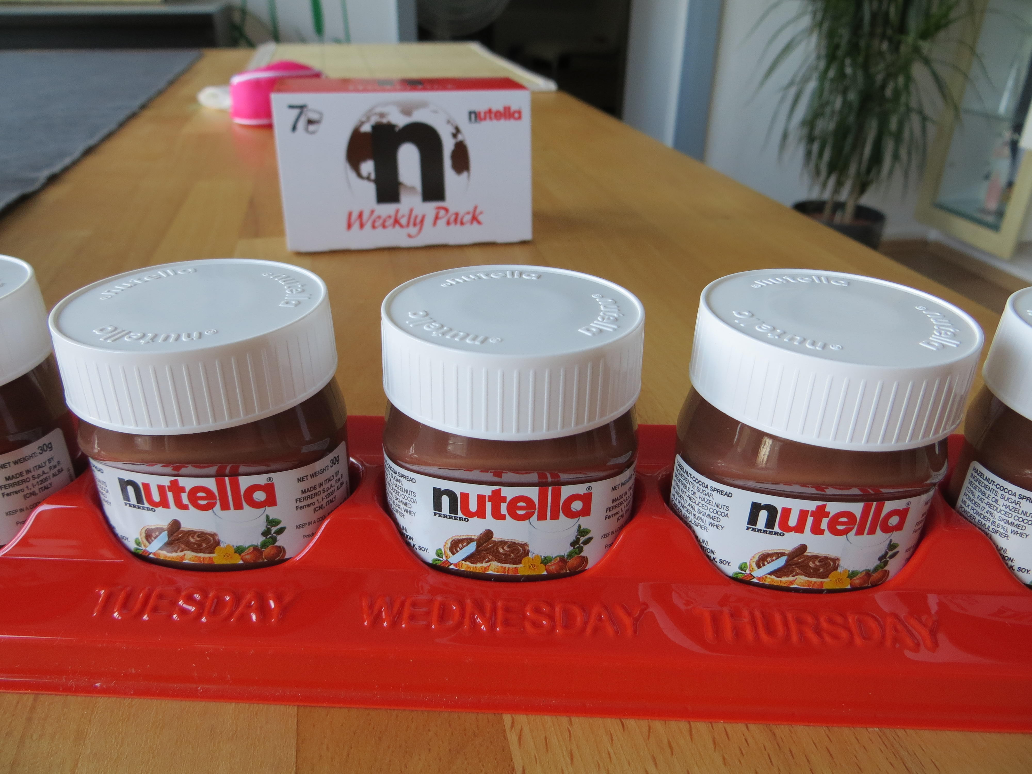 Nutella Weekly Pack