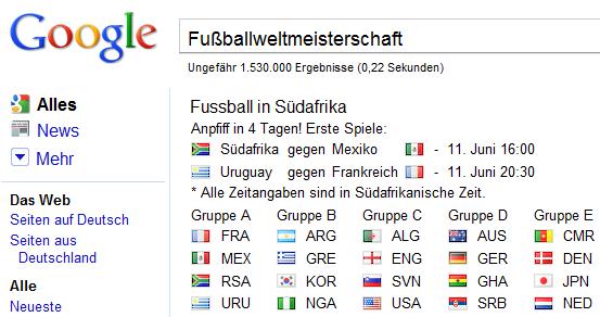 google WM 2010